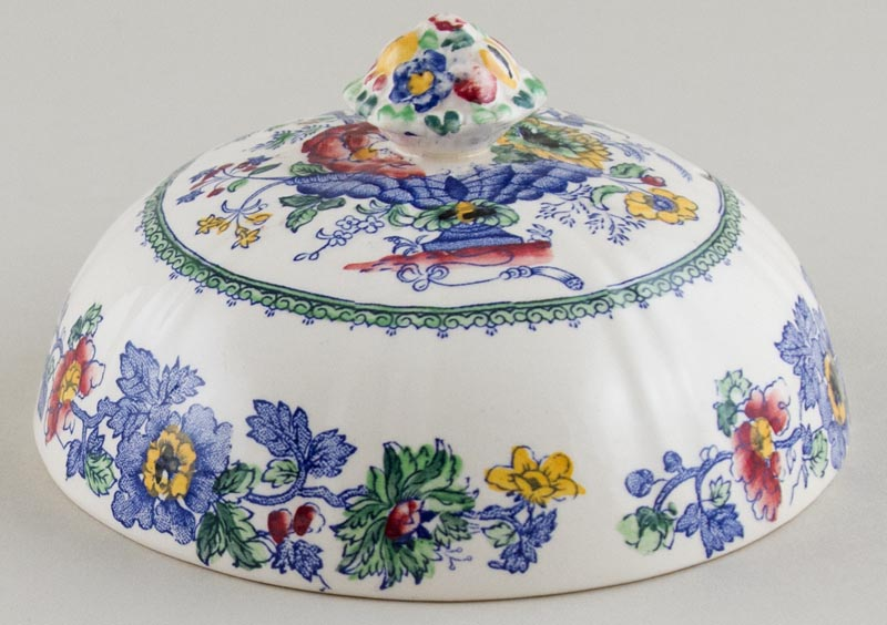 Masons Strathmore colour Muffin Dish cover