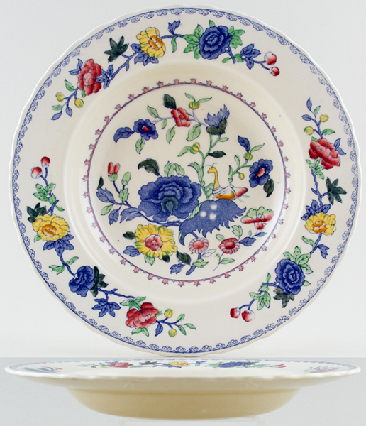 Masons Regency colour Soup Plate