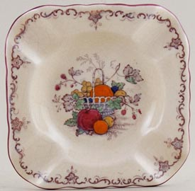 Masons Fruit Basket colour Ashtray
