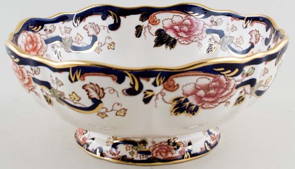 Masons Mandalay colour Bowl footed c1980