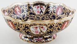 Bowl footed c1890