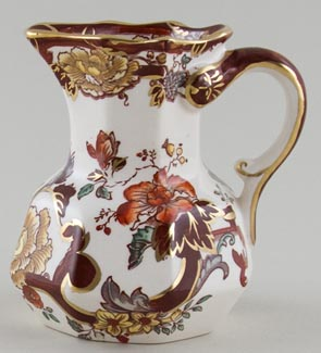 Masons Brown Velvet colour Jug or Pitcher c1930s