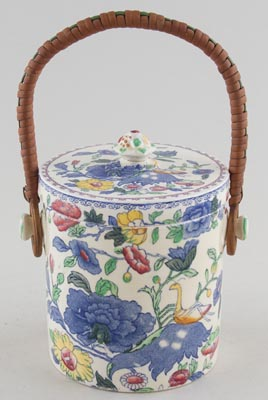 Masons Regency colour Biscuit Barrel small