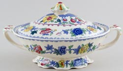 Masons Regency colour Vegetable Dish with inside divide