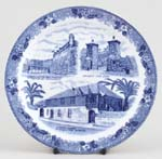 Plate St Augustine Florida c1970s