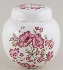 Wain Unidentified Pattern colour Ginger Jar c1950s