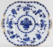 Minton Delft Bread and Butter plate c1921