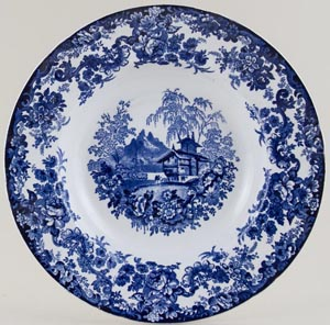 Minton Genevese Soup or Pasta Plate c1936
