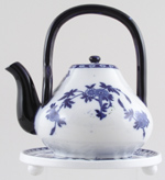 Teapot with Stand c1885