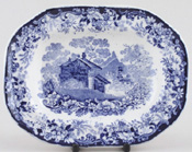 Meat Dish or Platter small c1900