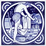 Tile The Dyer c1880