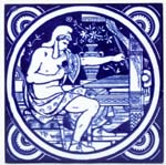 Tile The Weaver c1880