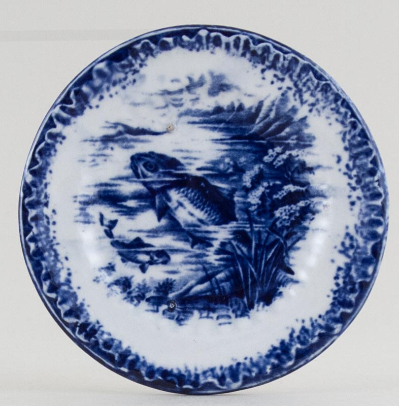 Empire Porcelain Unidentified Pattern Miniature Plate c1920s