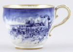 Jones George Unidentified Pattern Coffee Cup c1898