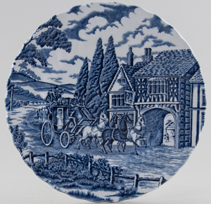 Myott Royal Mail Plate c1970s