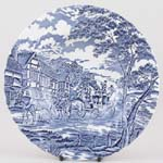 Myott Royal Mail Soup or Dessert Plate c1980s