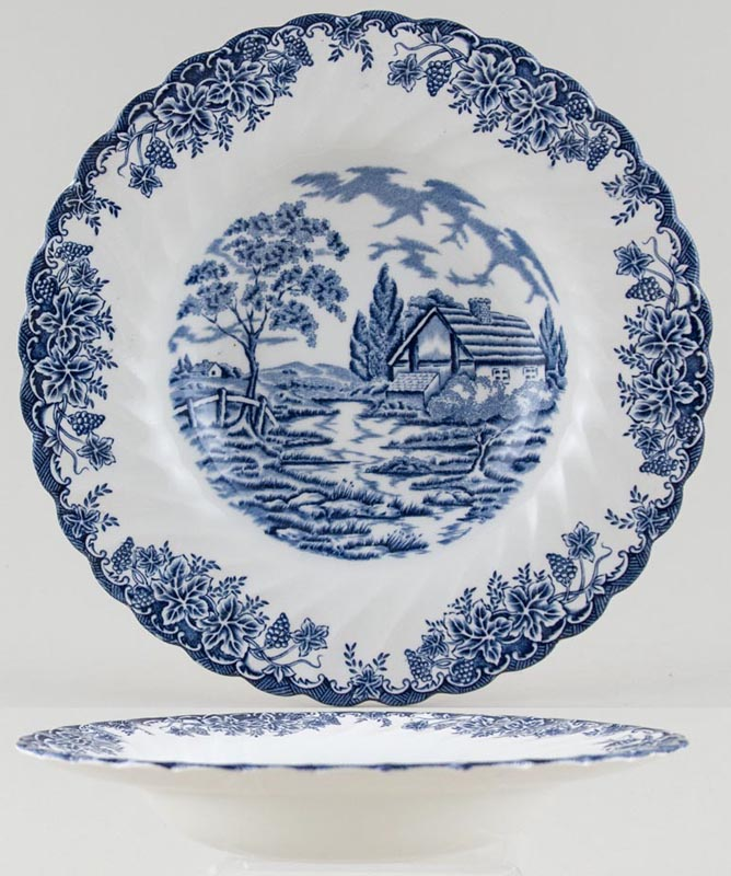 Myott The Brook Soup or Dessert Plate c1970s