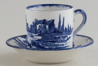 Royal Doulton Norfolk Coffee Can and Saucer c1930s