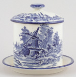 Jam or Preserve Pot with Fixed Stand c1930s