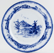 Royal Doulton Norfolk Plate c1912