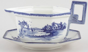 Royal Doulton Norfolk Sauce Boat with Stand c1937