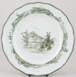 Doulton Norfolk green Plate c1902