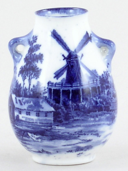 Royal Doulton Norfolk Miniature Vase c1912