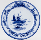 Royal Doulton Norfolk Plate c1907