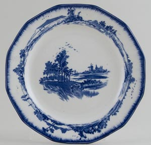 Royal Doulton Norfolk Plate c1930s