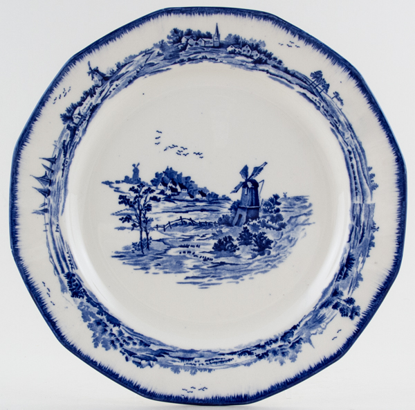 Royal Doulton Norfolk Plate c1937