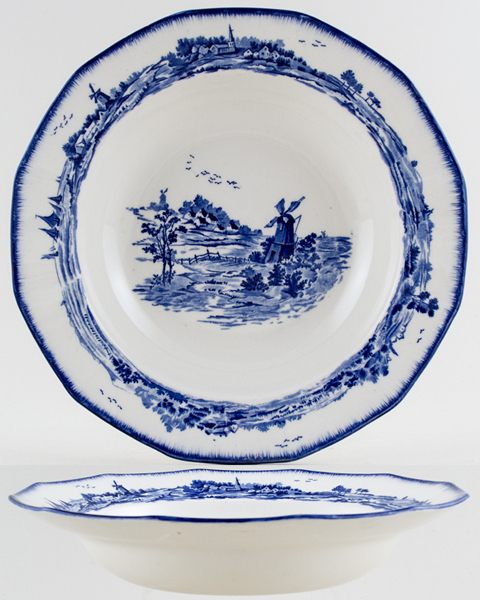 Royal Doulton Norfolk Soup Plate c1934