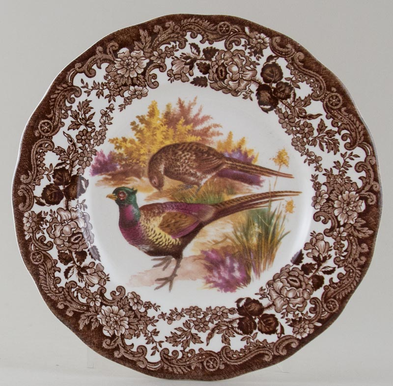 Palissy Game Series brown with colour Plate c1960s or 1970s