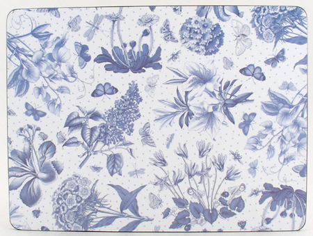 Portmeirion Botanic Blue Placemats Pack of Six