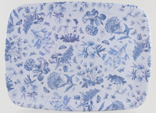 Portmeirion Botanic Blue Tray large melamine