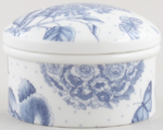 Portmeirion Botanic Blue Trinket Box
