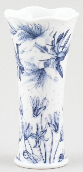 Portmeirion Botanic Blue Vase mini
