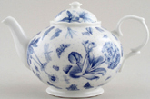 Portmeirion Botanic Blue Teapot medium