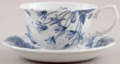 Portmeirion Botanic Blue Teacup and Saucer