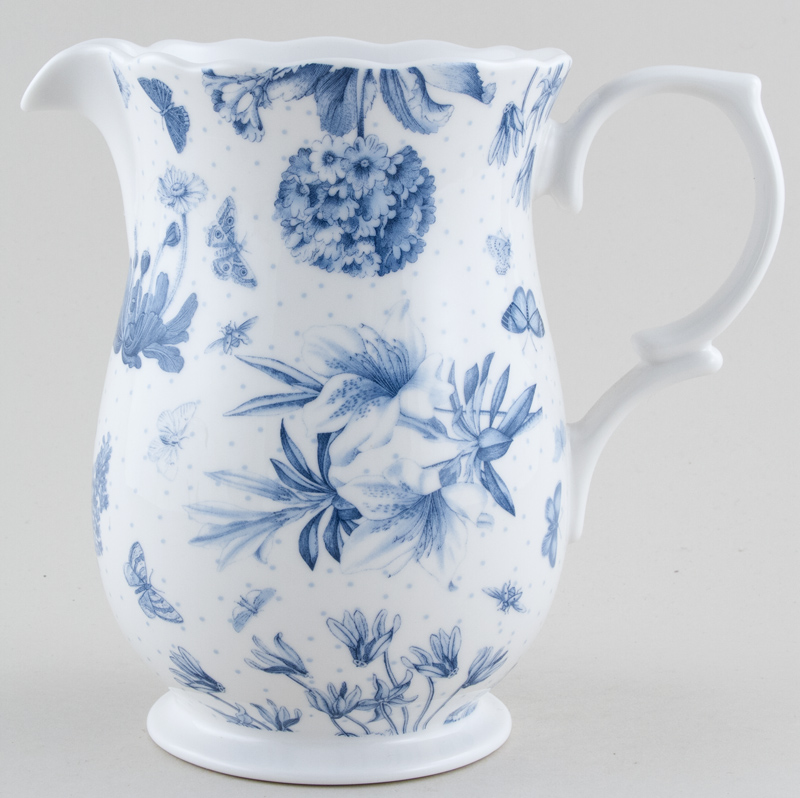 Portmeirion Botanic Blue Jug or Pitcher