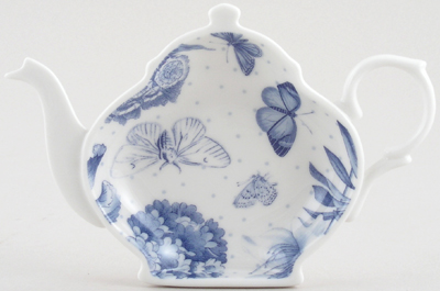 Portmeirion Botanic Blue Teabag Holder