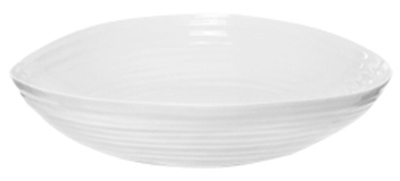 Portmeirion Sophie Conran White Fruit or Salad Bowl large