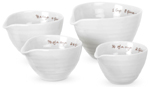 Portmeirion Sophie Conran White Measuring Cups Set of Four