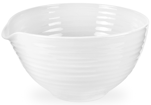 Portmeirion Sophie Conran White Mixing Bowl medium