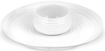 Portmeirion Sophie Conran White Dipping Dish & Platter