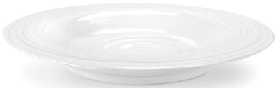 Portmeirion Sophie Conran White Soup Plate