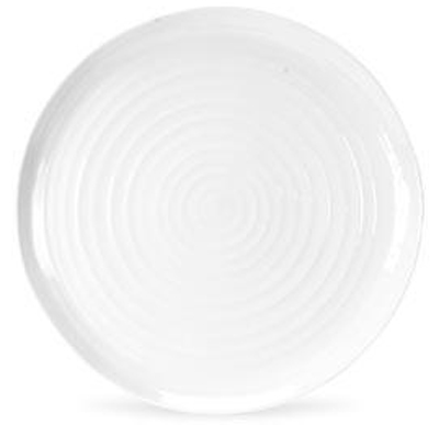 Portmeirion Sophie Conran White Meat Dish or Platter round