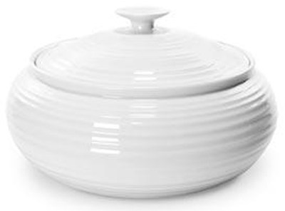Portmeirion Sophie Conran White Casserole Dish low