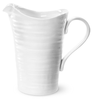 Portmeirion Sophie Conran White Jug or Pitcher