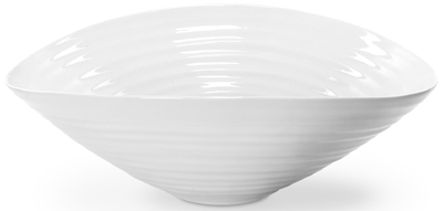Portmeirion Sophie Conran White Fruit or Salad Bowl small