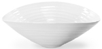 Portmeirion Sophie Conran White Fruit or Salad Bowl medium